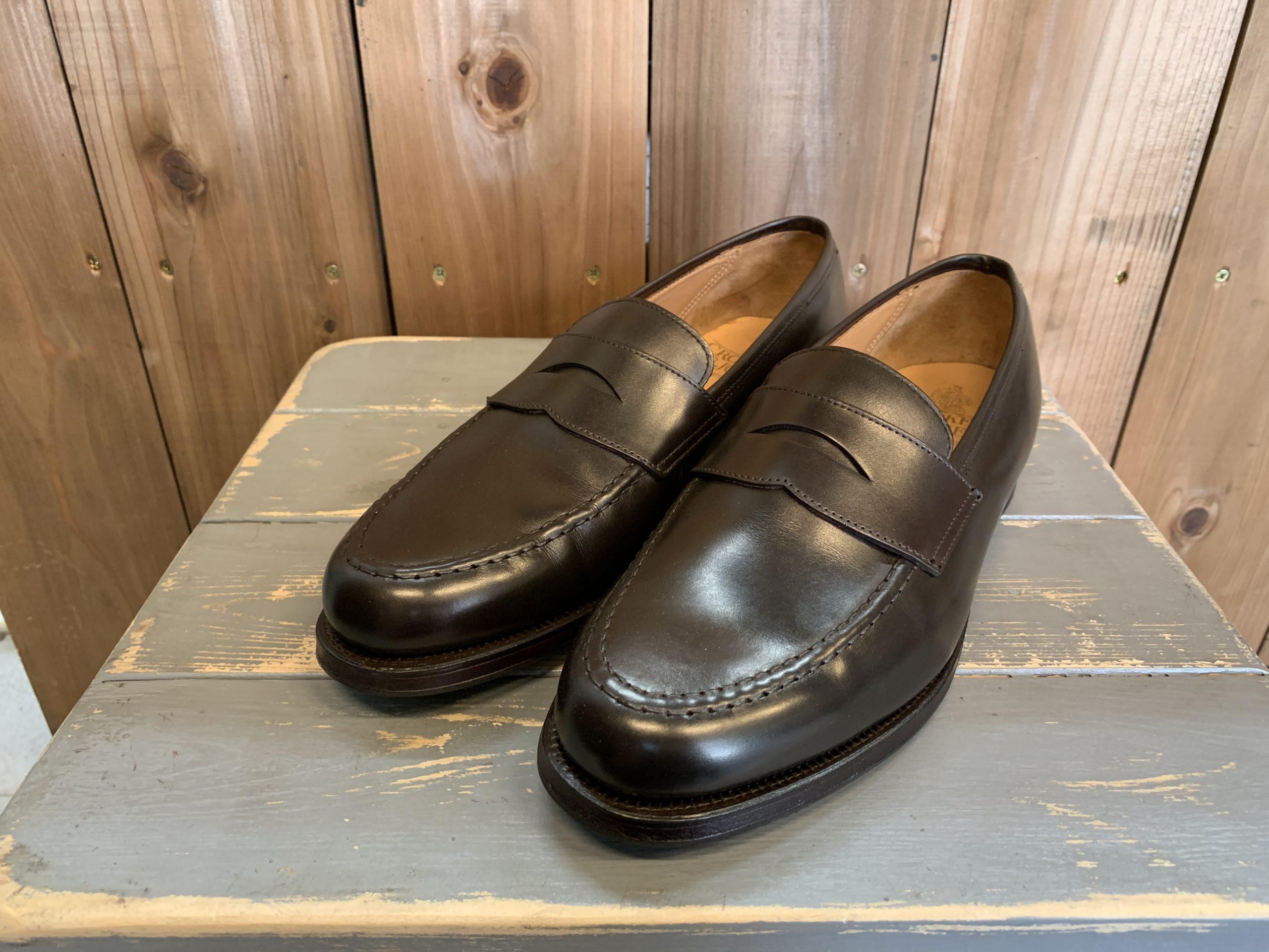 靴の染め替え